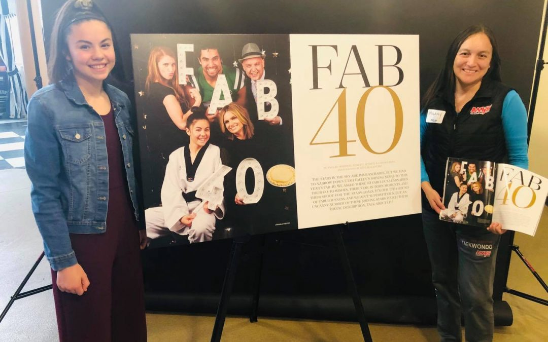 AMYS Student Makes it to Utah Valley's Fab 40